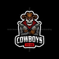 Cowboys Team Mascot Logo