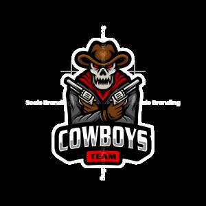 Cowboys Team Mascot Logo