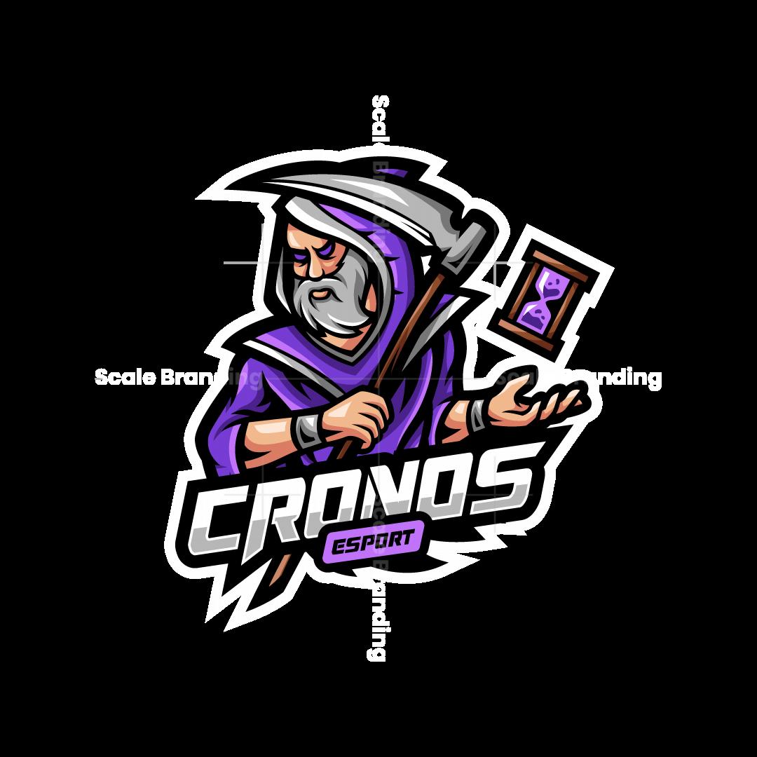 Cronos Esport Mascot Logo