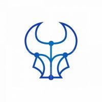 Cyber Bull Logo