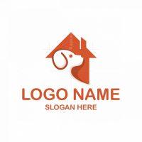 Dog Home Pet Logo
