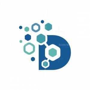Digital Data D Letter Logo
