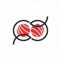 Double Fish Sushi Logo