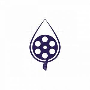 Water Drop Film Logo