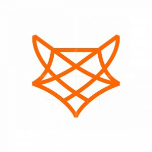 Elegant Fox Knot Logo