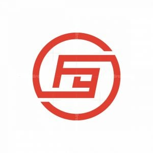 F And G Letter Logo