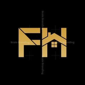 Modern Fh Real Estate Logo