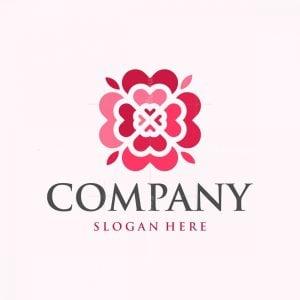 Love Flower Mandala Logo