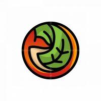 Fox Leaf Circle Logo