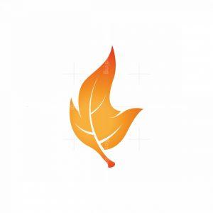 Fire Leaf Logo