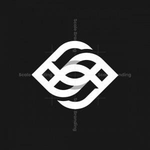 Fish And Eye Mark Logo