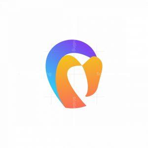 Colorful Flamingo Logo