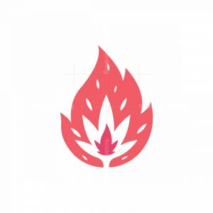 Flower Fire Logo