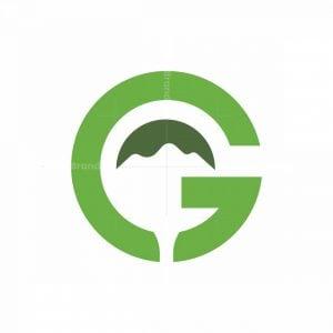 G Golf Mountain Logo