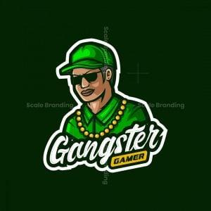 Gangster Gamer Mascot Logo