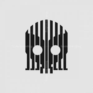 Gas Mask Or Skull Mark Logo