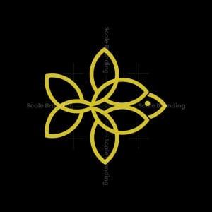 Fish Flower Logo