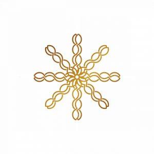 Golden Floral Logo