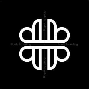 H Elegant Monogram Logo