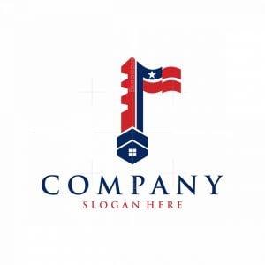 Home Key Flag Logo