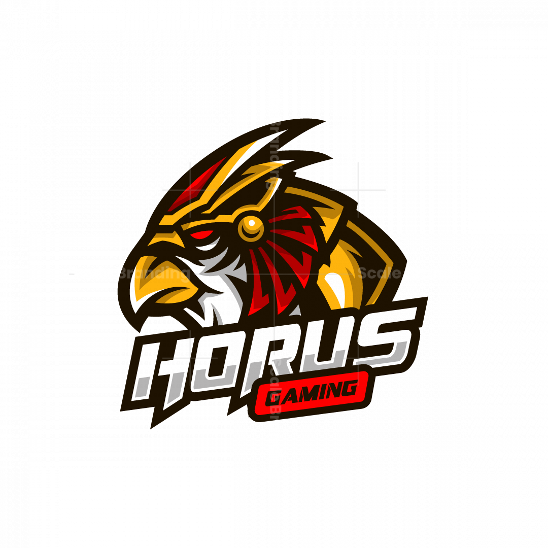 Horus Gaming Mascot Logo