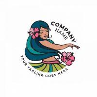 Hula Dancer Logo