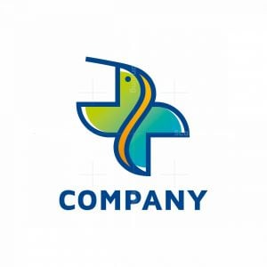 Hummingbird Cross Logo