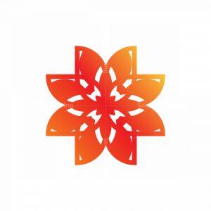 Jewelry Flower Logo