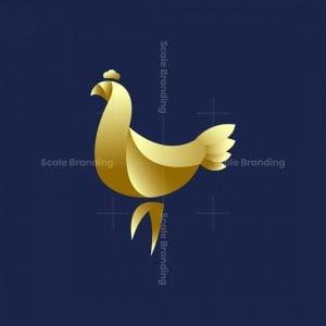 Luxurious Chicken Logo