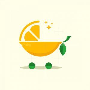 Lemon Cart Baby Logo