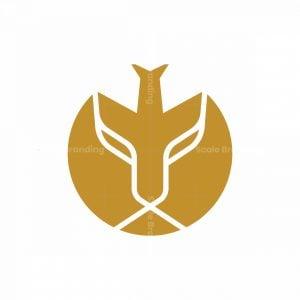 Lion And Plane Logo