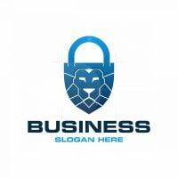 Lock Lion Logo