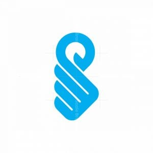 Abstract Sw Swan Logo
