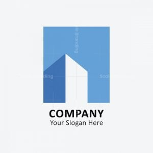 Building Negative Space Logo