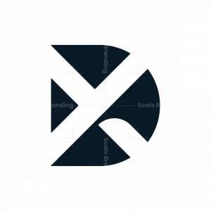 Initial Dx Xd Logo