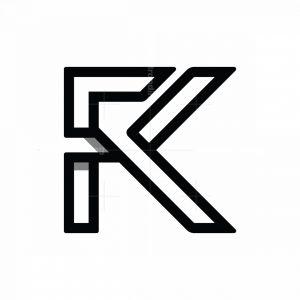 Initial Fk Kf Logo