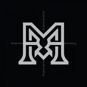 Letter M Monster Logo
