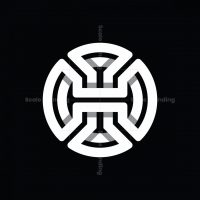 Abstract Letter H Logo