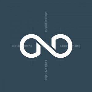 Letter N Infinity Logo