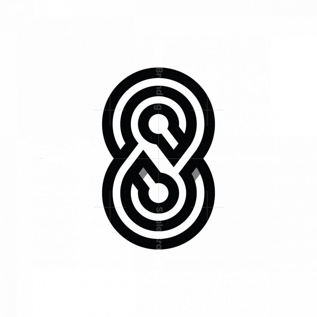 Tech Number 8 Logo