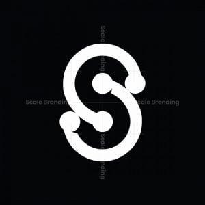 Letter S Line Logo