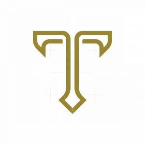 Letter T Elegant Logo