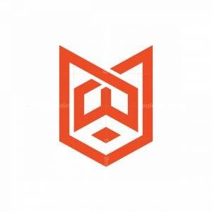 Abstract W Fox Logo