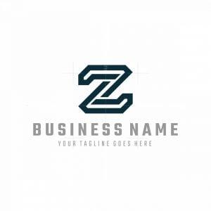 Stylish Z Or N Logo