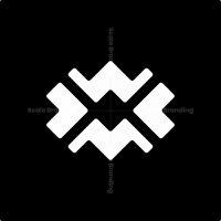 Letter Wm Code Logo