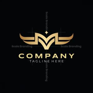M V Vm Mv Bull Logo