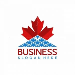 Mountain Solar Maple Industrial Logo