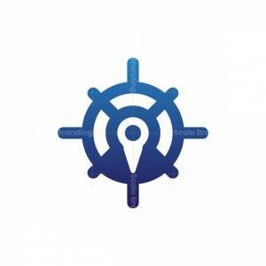 Map Navigation Cruise Logo