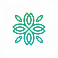 Medical Nature Flower Logo