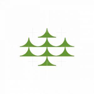 Minimalist Pine Mark Logo